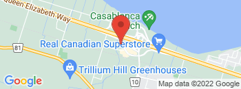 Google Map of 435+South+Service+Road%2CGrimsby%2COntario+L3M+4E8